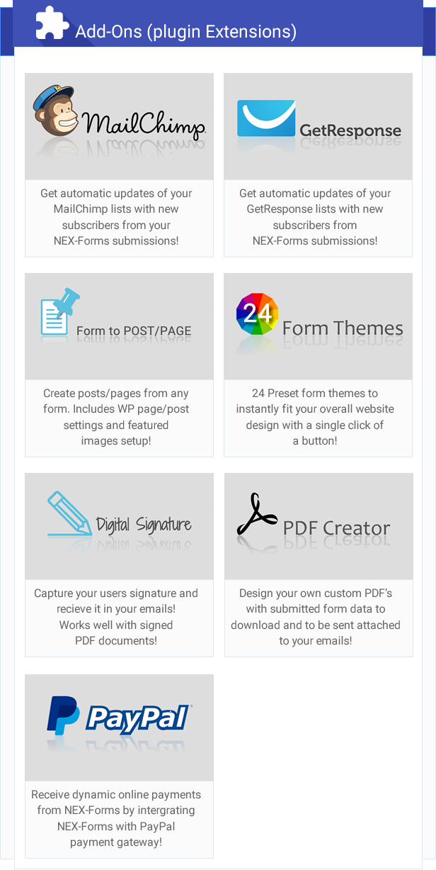 NEX-Forms - The Ultimate WordPress Form Builder 4