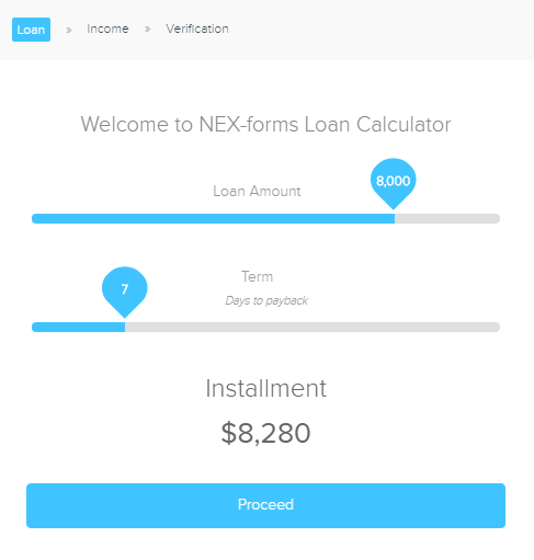 Cost Estimation Forms