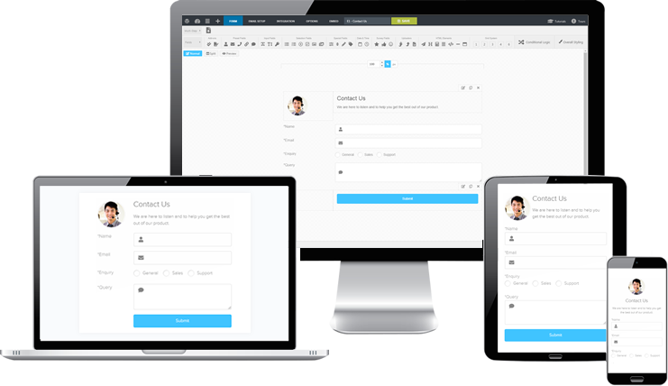 Responsive WordPress Form Builder Plugin