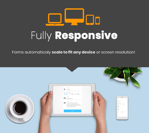 Best WordPress Form Builder Plugin - Responsive Forms
